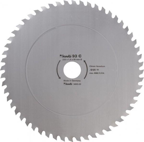 KWB Cirkelzaagblad voor de bouw en de tafel zagen ? 450 mm - 594522