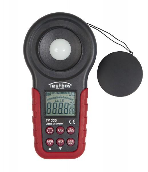 Testboy TV 335 Luxmètre LED - TB TV 335