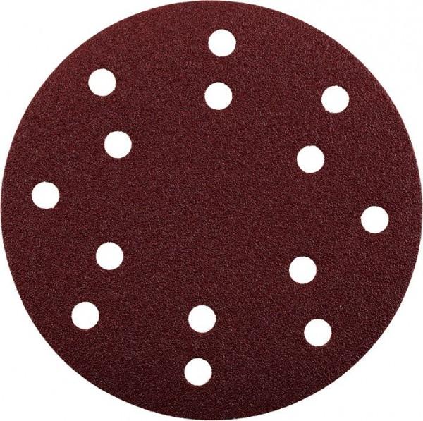 KWB QUICK-STICK schuurschijven, HOUT & METAAL, edelkorund, Ø 150 mm, geperforeerd - 492006
