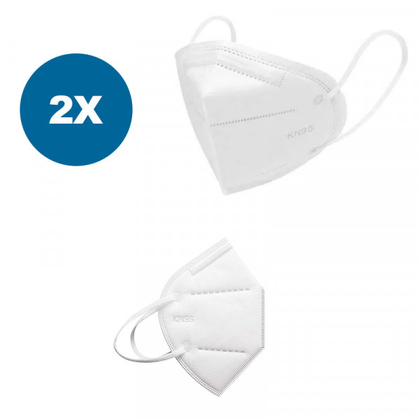 Atemschutzmaske KN95 / N95, 2 Stück