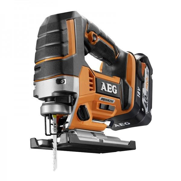 AEG Elektrowerkzeuge Brushless Akku-Stichsäge BST18BLX-402C - 4935459656
