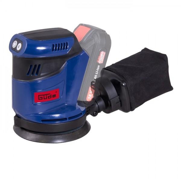Güde Ponceuse excentrique EXS 18-0, sans batterie et chargeur - 58523