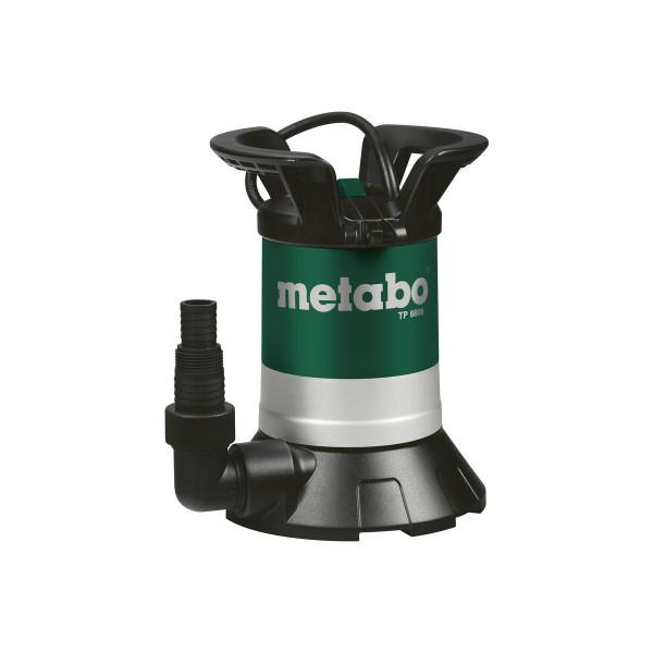 Metabo Bomba sumerg, agua limpia TP 6600 (sin interruptor de flotador), Cartón - 0250660000
