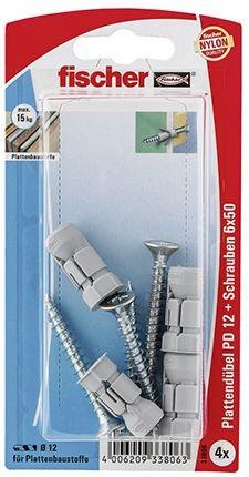 Fischer Plattendübel PD 12 SK SB-Karte - 1 Stück