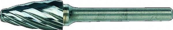 Bahco Fraise lime, ogive à bout rond, pour alu, 51mm - f0618al06