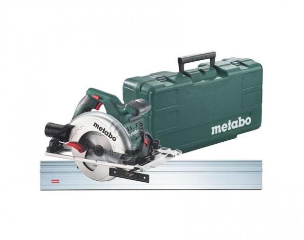 Metabo 1.200-W-KS 55 FS Set Cirkelzaag, kunststof koffer + geleiderail - 690738000