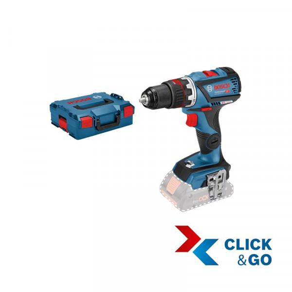 Bosch Professional Perceuse-visseuse sans fil GSR 18V-60 FC, sans batterie et chargeur, L-BOXX - 06019G7102