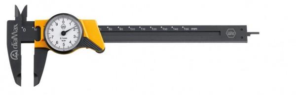 Wiha Uhrmessschieber dialMax ESD, Ablesung 0,1 mm (411 210 8) 150 mm - 31439