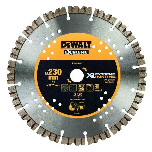 DeWALT Disco diamantato 230/22.2 mm - DT40260-QZ