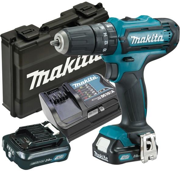 Makita Klopboor-/schroefmachine 10,8V - HP331DSAX3