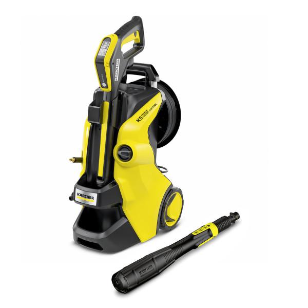 Kärcher Hochdruckreiniger K 5 Premium Smart Control, G 180 Q Smart Control-Pistole, Boost Mode - 1.324-670.0