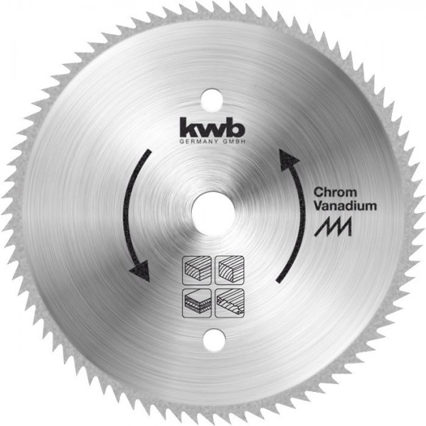 KWB Cirkelzaagblad voor cirkelzagen ø 210 mm - 587811