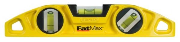 Stanley 043603 Torpedo-Wasserwaage FatMax, Aluminium, magnetisch 43-603