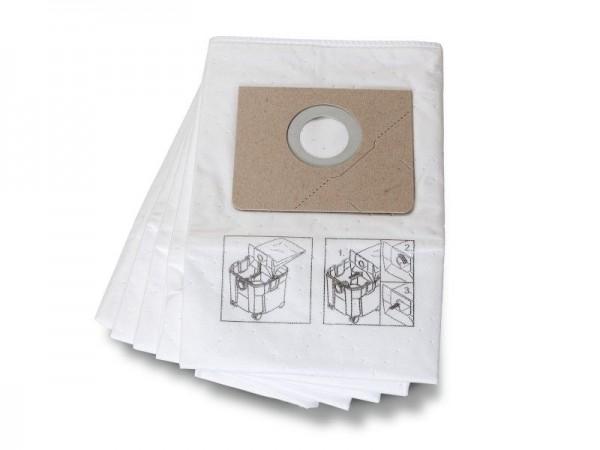Fein 5 Sacs à poussières en matériau non tissé pour Dustex 35 L