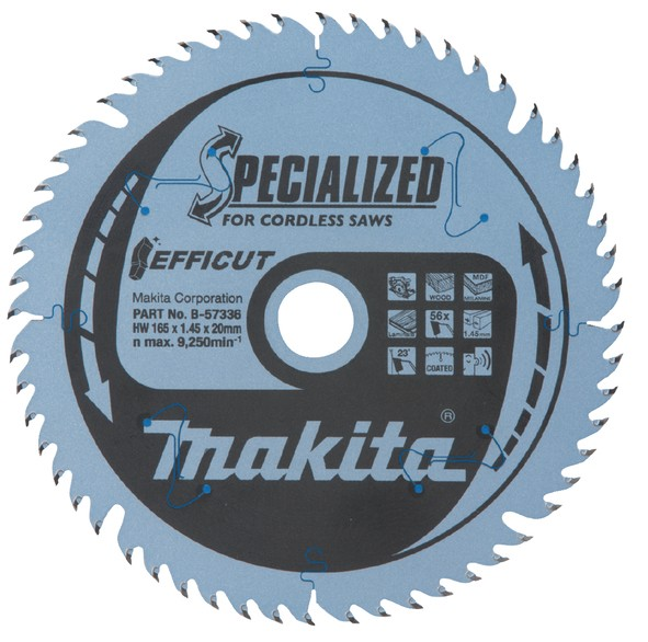 Makita SPECIALIZED Sägeb. 165x20x56Z - B-57336