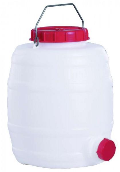 GRAF Kunststoff-Fass rund aus PE 15 Liter