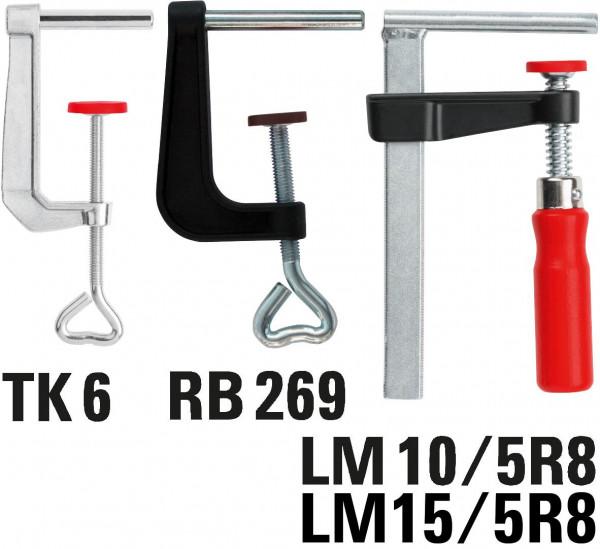 Bessey Tischklemme LM15/5R8 150/50 - LM15/5R8