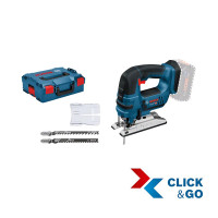 Bosch Professional Accudecoupeerzaag GST 18 V-LI B Professional, L-BOXX - 06015A6101