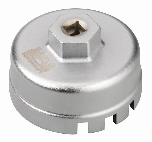 Bahco Chiave per filtro olio Toyota, Lexus, Subaru, Daihatsu 4 cilindri (da 1,8 a 2,0 l) - BE63064514F1
