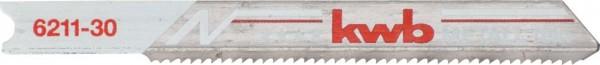KWB Decoupeerzaagbladen, metaalbewerking, bimetaal, fijn - 621130