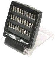 Black & Decker 31tlg. Schrauberbit Set A7122 in Box