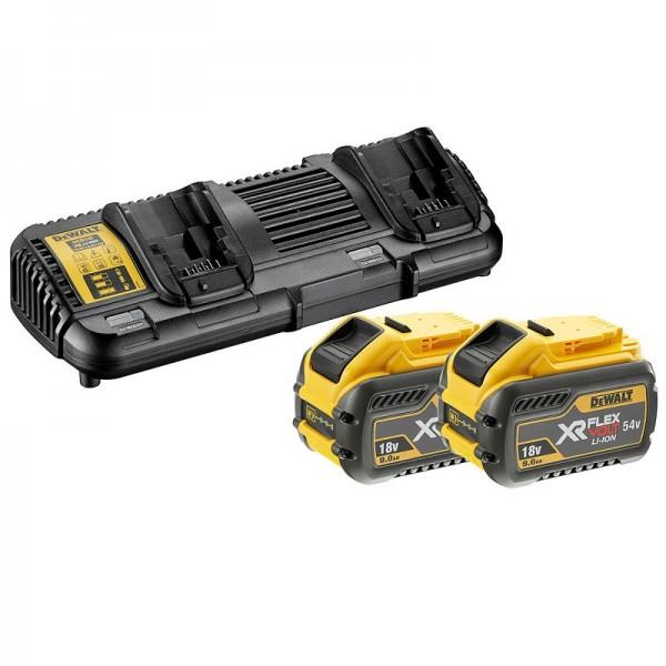 DeWALT Starter-Set 2x batterie 54V /162 Wh - DCB132X2-QW