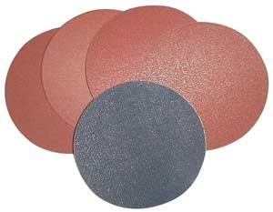 Güde Klett-Schleifscheiben Set 150 mm- 13 teilig / Übergangsstück + 12 Scheiben K60 bis 240