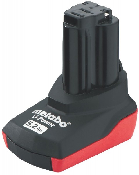 Metabo Akkupack 10,8 V, 5,2 Ah, Li-Power
