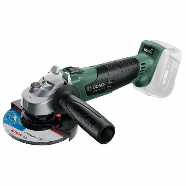 Bosch Akku-Winkelschleifer AdvancedGrind 18, ohne Akku und Ladegerät, mit Zusatzhandgriff - 06033D9000
