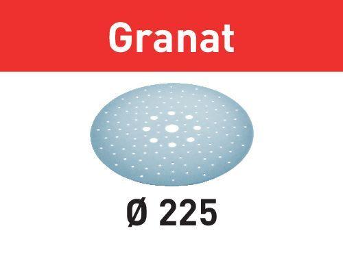 Festool Abrasif STF D225/128 P320 GR/5 Granat, 5 pcs - 205669