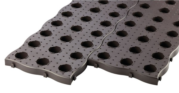 Garantia Maxi Beetplatte 70 x 24 cm, 4 Stück