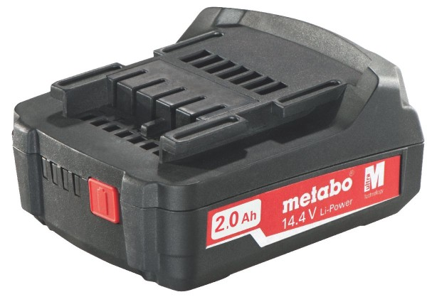 "Metabo Akkupack 14,4 V, 2,0 Ah, Li-Power, ""AIR COOLED"""