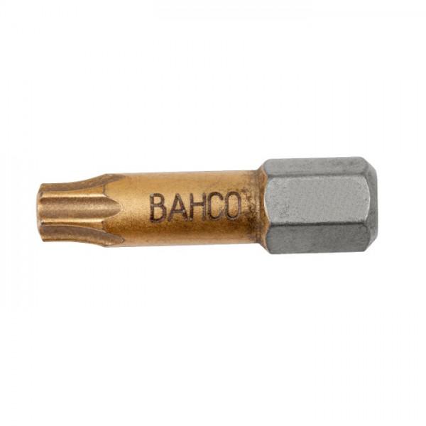 """Bahco Bits T20, 25mm, 1/4"""" TIN, 2er Pack - 62TIN/T20-2P"""