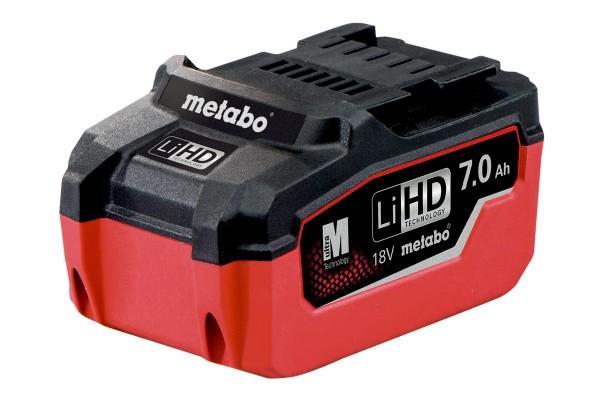Metabo Akkupack LiHD 18 V - 7,0 Ah - 625345000