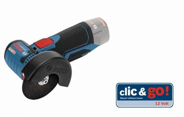 Bosch Meuleuse angulaire sans fil GWS 10,8-76 V-EC version solo - sans batterie ni chargeur