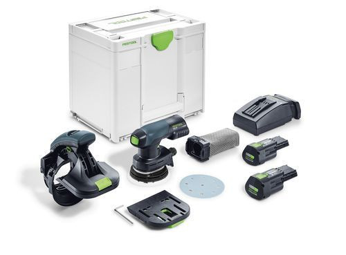 Festool Ponceuse de chants sans fil 18V ES-ETSC 125 3,1 I-Plus + 2 x batterie + chargeur TCL 6 - 576684