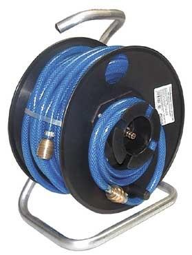 Güde Druckluftschlauchtrommel mit Axialanschluss - 20 Meter