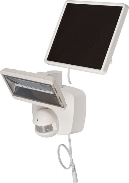 Brennenstuhl Solar LED-Strahler SOL 800 plus IP44 mit Infrarot-Bewegungsmelder weiss