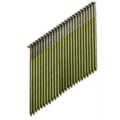 DeWALT Chiodi in stecca 34º, ring, 90 mm, 2200 pezzi - DNW31R90E
