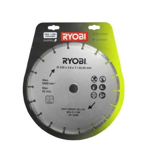 Ryobi Diamantsnijschijf Ø 230/22,23 mm - AGDD230A1