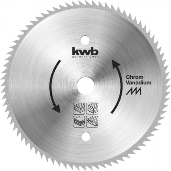 KWB Cirkelzaagblad voor de bouw en de tafel zagen ? 250 mm - 589311