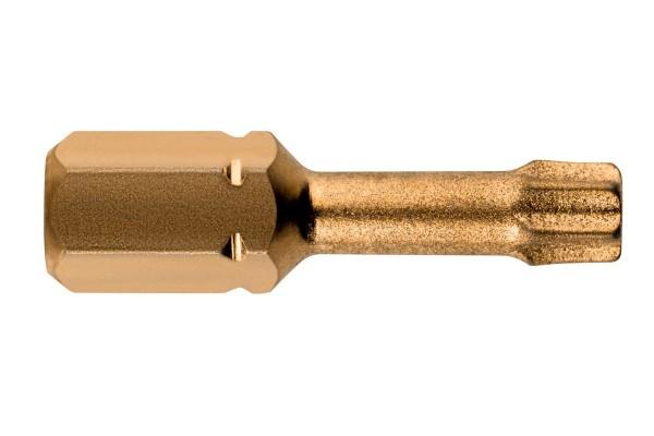 Metabo 3 Bits Torx TX 40/ 25 mm Diamant - 628512000