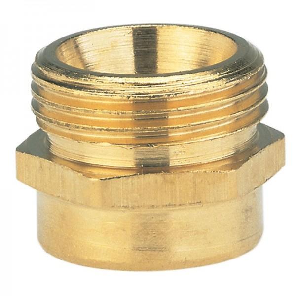 Gardena Embout fileté en laiton 33,3 mm (G 1)-filetage extérieur/ 26,5 mm (G 3/4)-filetage intérieur - 07265-20