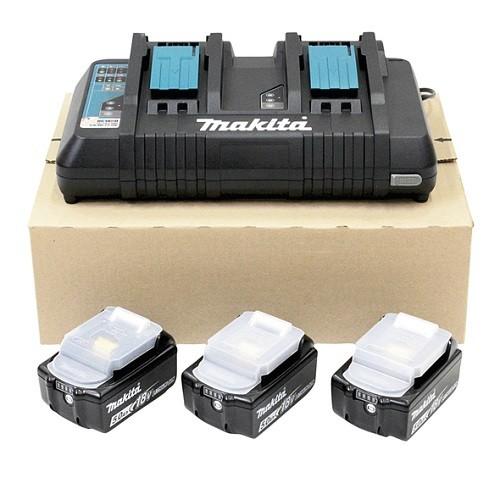 Makita Kit energy 18V 5,0Ah + caricabatterie doppio rapido - 198458-6