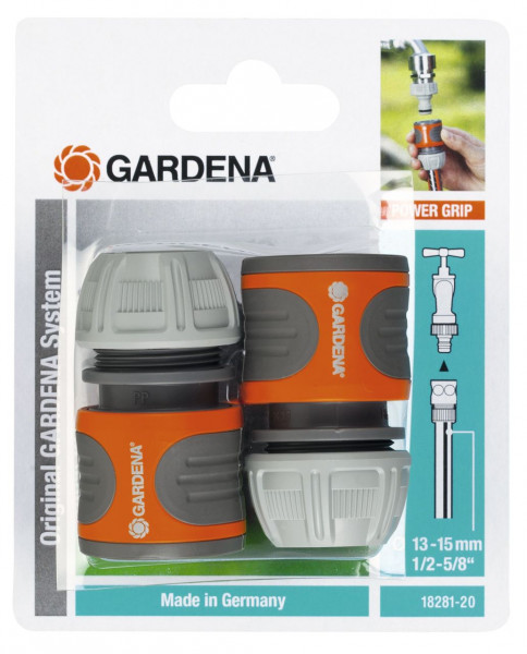 Gardena Schlauchverbinder-Satz 13mm 1/2 Zoll - 15mm 5/8 Zoll