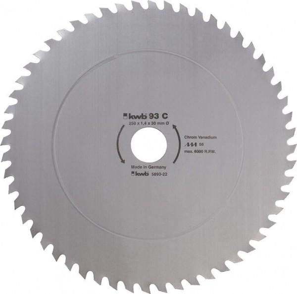 KWB Cirkelzaagblad voor de bouw en de tafel zagen ? 400 mm - 594022