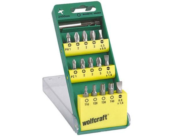 Wolfcraft Bitbox - 25 mm - 15-Delig - 2400000