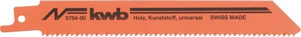 KWB Reciprozaagbladen, multifunctioneel, HCS-staal - 578400