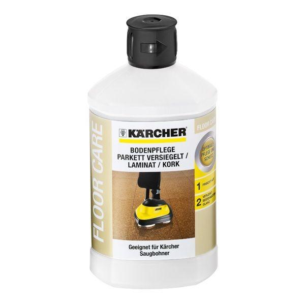 Kärcher Bodenpflege Parkett versiegelt/ Laminat/ Kork RM 531, 1 l - 6.295-777.0