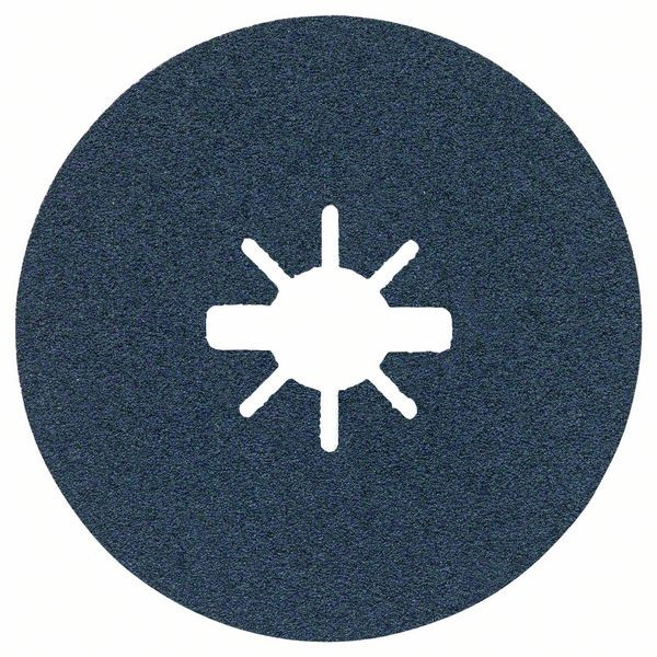 Bosch Dischi fibrati per levigatura X-LOCK Ø125 mm, G 60, R574, Best for Metal, 1 pz. - 2608619161
